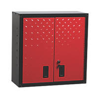 Hilka Pro-Craft Red / Black Garage Wall Unit 764 x 306 x 768mm