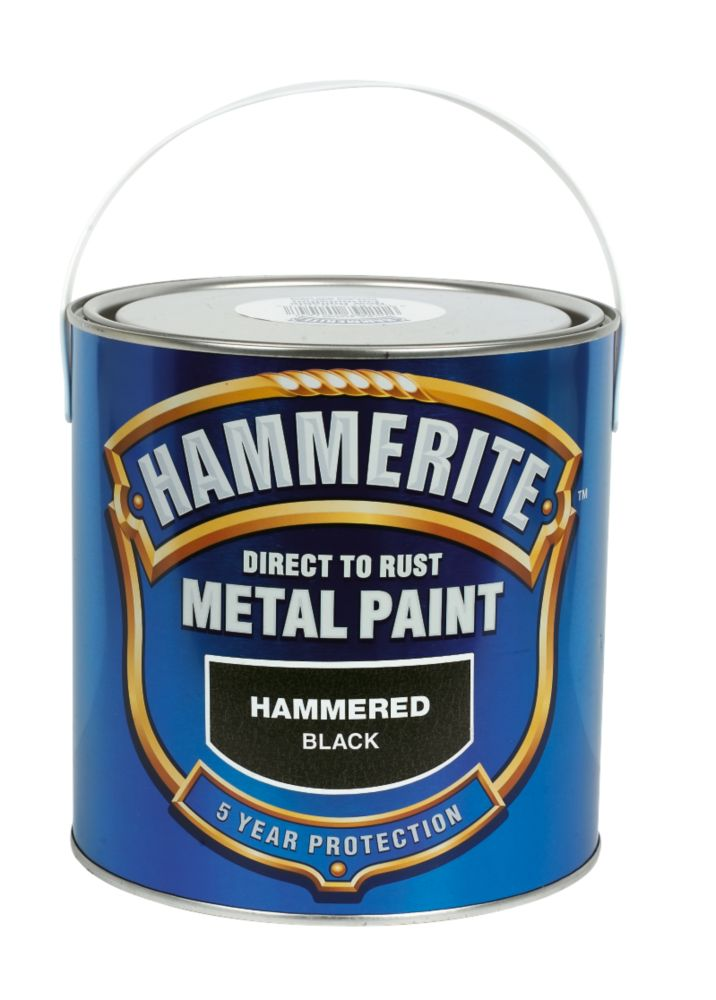 Hammerite Hammered Black 2 5L