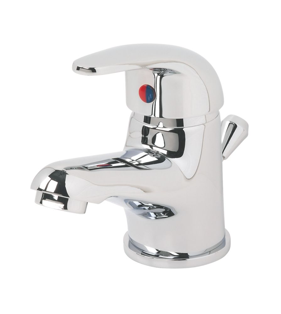 Swirl Single Lever Mini Bathroom Basin Mixer Tap