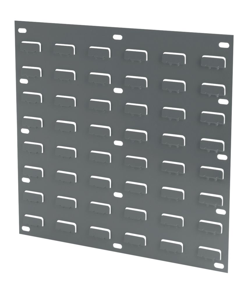 Wall Mounted Louvred Panel 457 x 438mm Pack of 2