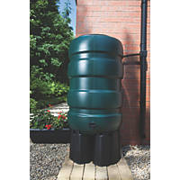 Water Butt & Accessory Kit Green 230Ltr