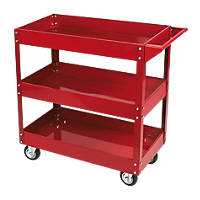 Hilka Pro-Craft 3-Tier Mechanics Service Cart 780 x 420mm