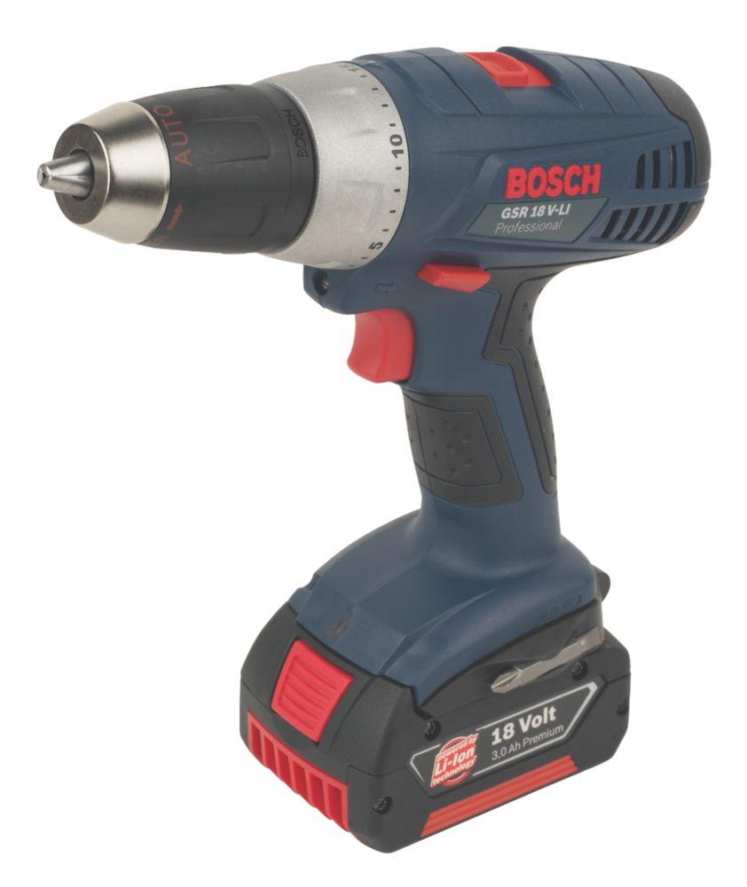 Bosch GSR18V-LI 18V 3Ah Li-Ion Cordless Drill Driver