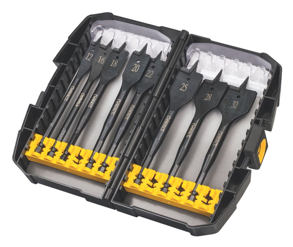 DeWalt Extreme Flatwood Bit Set 8 Piece
