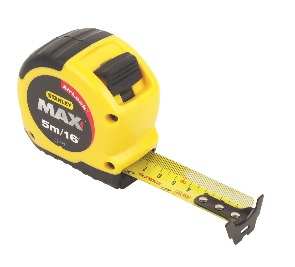 Stanley Max Short Tape 5m