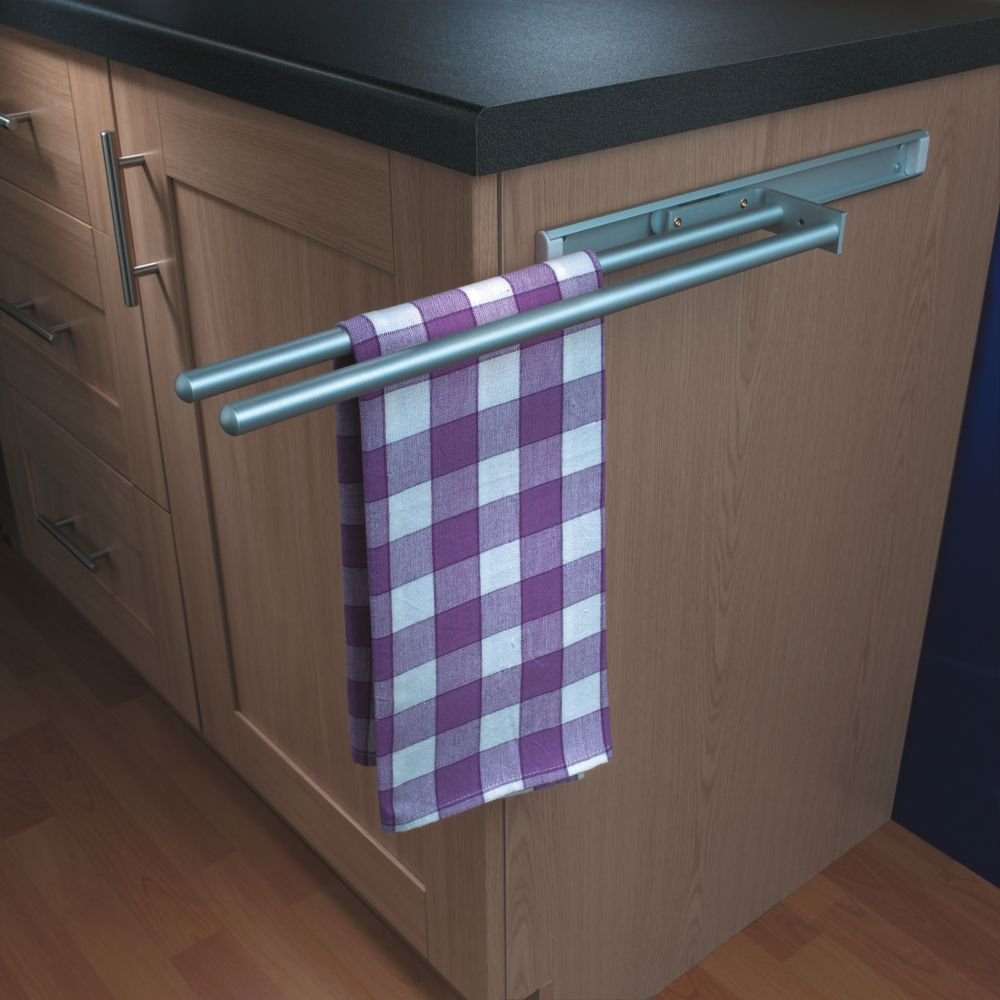 Hafele Kitchens Towel Rail Aluminium