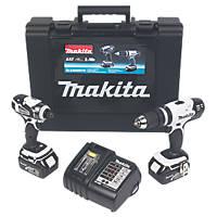 Makita DLX2020SW 18V 3.0Ah Li-Ion LXT Cordless Combi Drill & Impact Driver