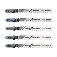 Bosch Straight Jigsaw Blade Pack of 5