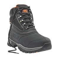 Hyena Etna Chukka Safety Boots Black  Size 7