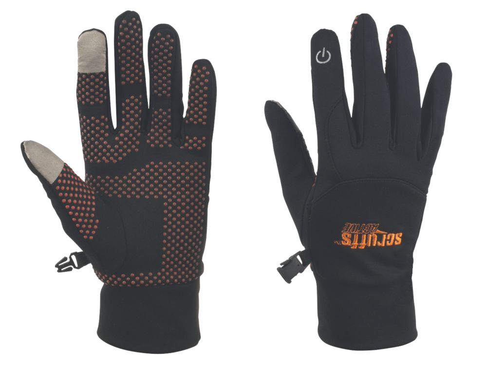 Scruffs Active Specialist Handling Smart Gloves Black Large
