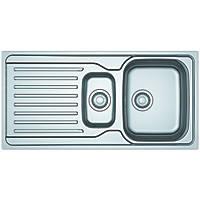 Franke Reversible Inset Sink & Drainer Stainless Steel 1.5 Bowl 1000 x 500mm