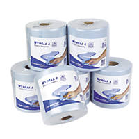 Kimberly-Clark Centre-Feed Rolls  -Ply  x  6 Pack