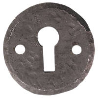 Carlisle Brass Hand-Forged Escutcheon Antique Black 40mm
