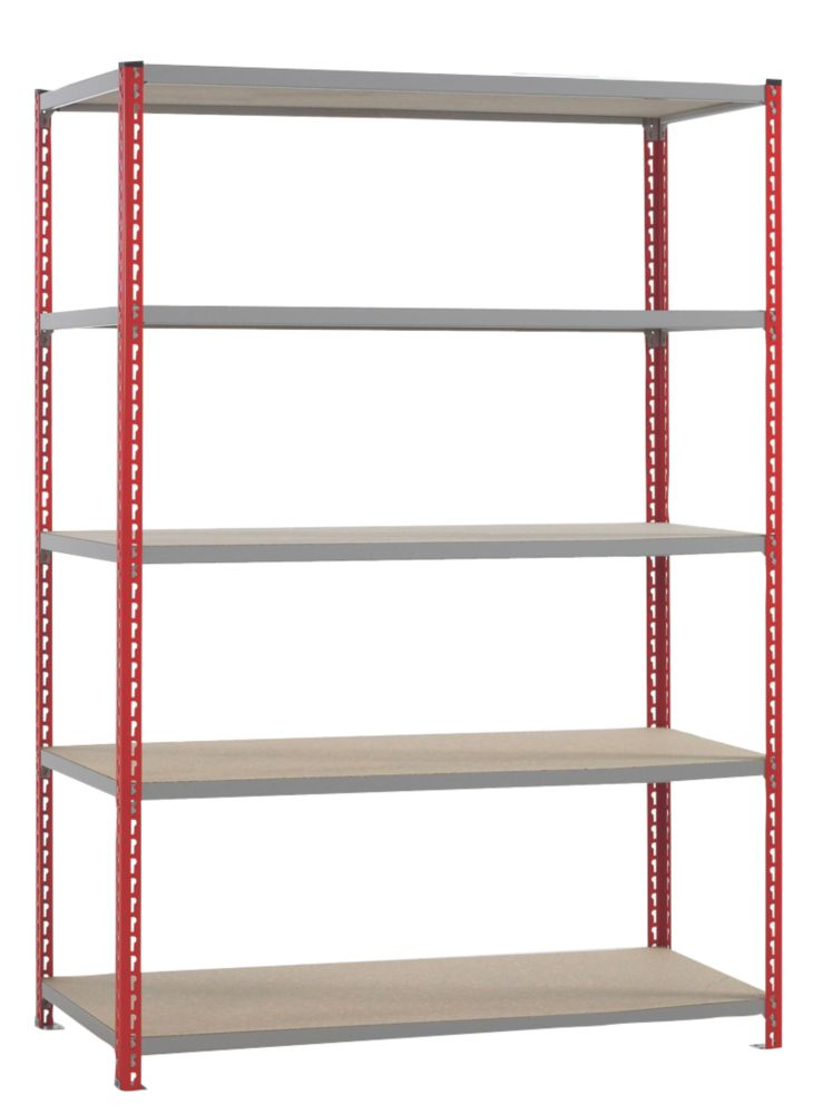 Just Shelving 1980 x 1529 x 466mm 5 Shelves