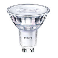 Philips GU10 LED Warmglow Glass Reflector Lamps 345lm 900Cd 4.6W 6 Pack