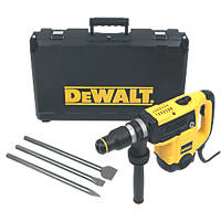 DeWalt D25820KIT-LX 5kg SDS Max Chipping Hammer 110V