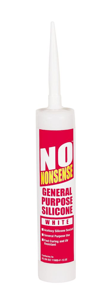 No Nonsense GP Silicone White 310ml