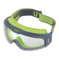 Uvex  U-Sonic Clear Lens Safety Goggles