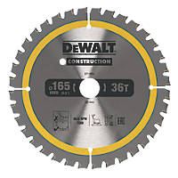 DeWalt Circular Saw Blade 165 x 20mm 36T