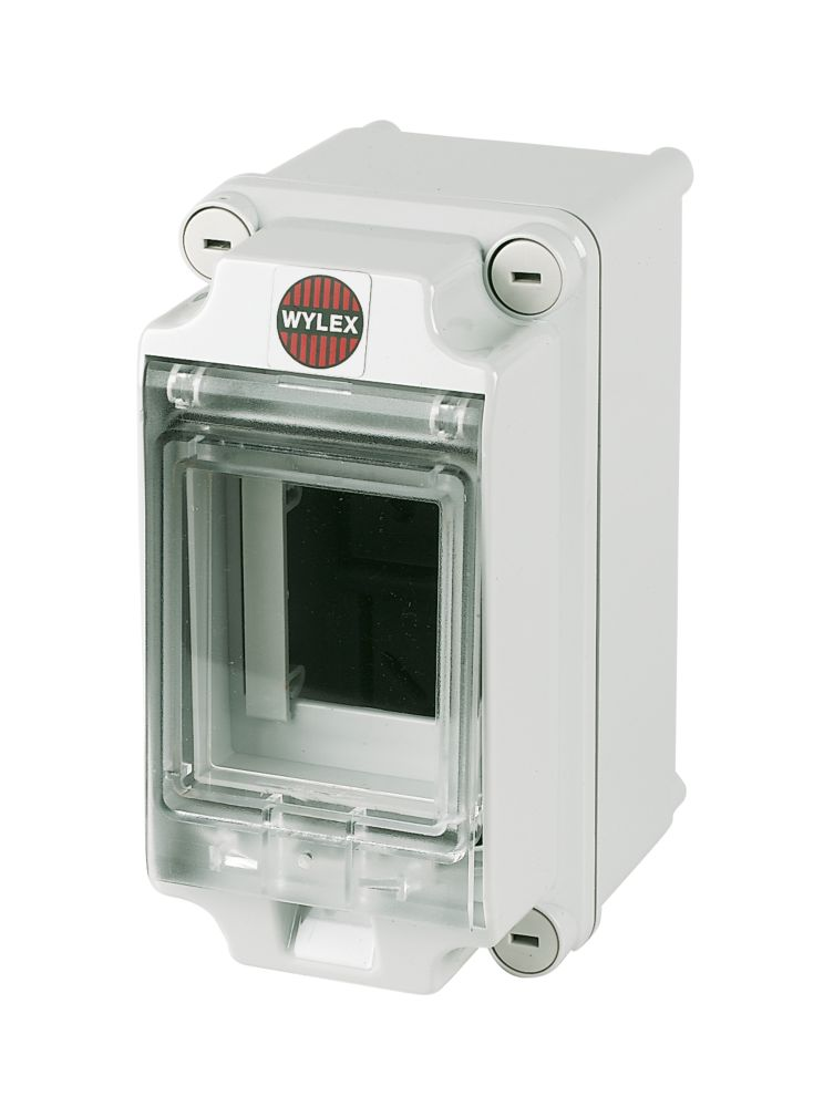 Wylex IP65 Insulated Enclosure With Visor