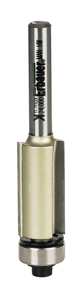 "Erbauer Pro Flush Trim Bit ¼"" Shank 12.7 x 25.4mm"