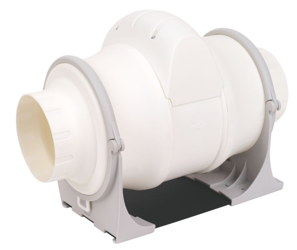 Xpelair XIM100+ In-Line Bathroom Extractor Fan