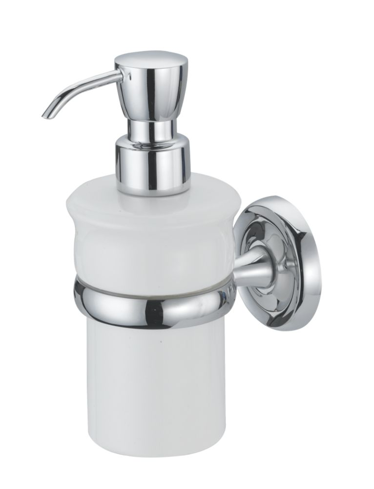 Moretti Henley Classic Soap Dispenser Chrome-Plated