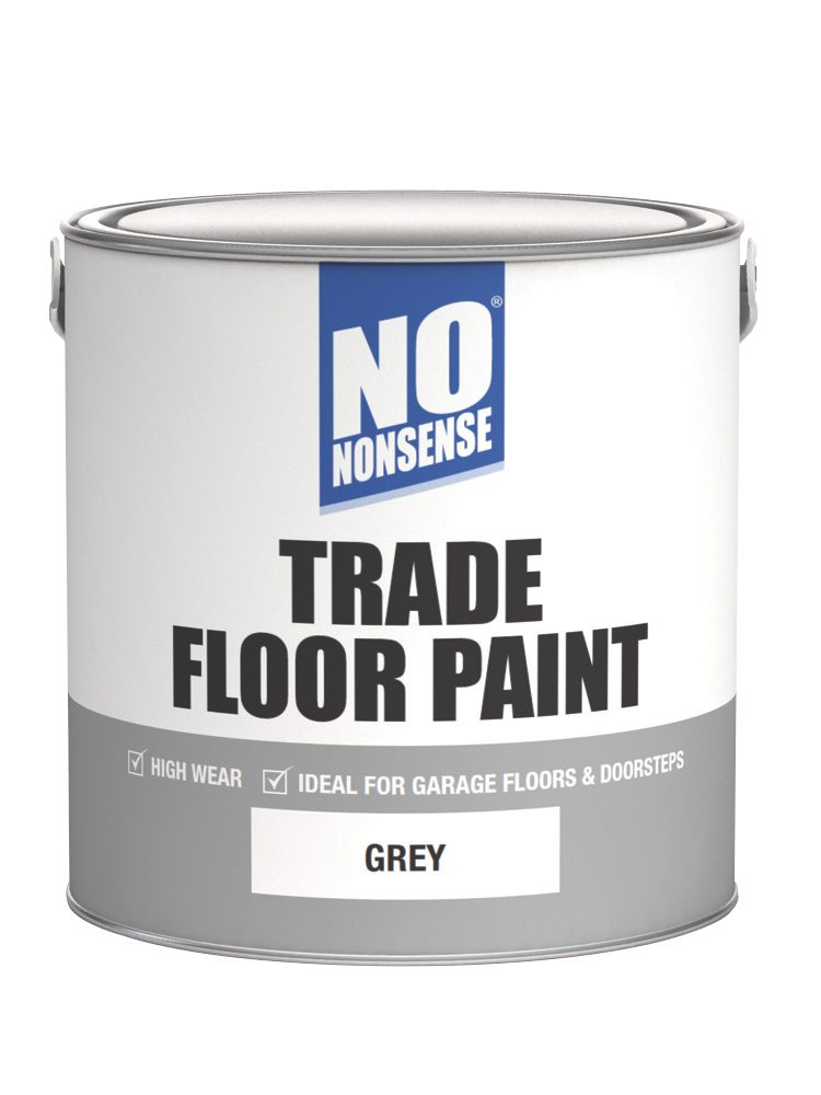 No Nonsense Floor Paint Grey 2.5Ltr