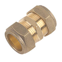 Straight Couplings 22mm x 22mm 10 Pack