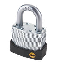 Yale Protector Laminated Steel Padlock Max. Shackle W x H: 23 x 29mm