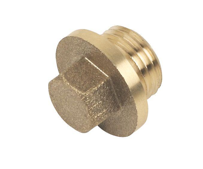 "Brass Flanged Plug ¼"""