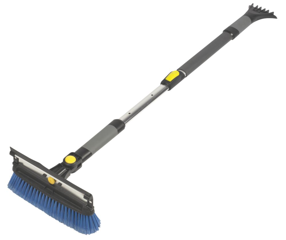 3-in-1 Telescopic Snow Brush, Scraper & Squeegee Tool
