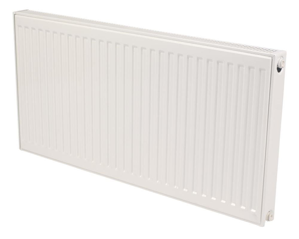 Kudox Premium Type 21 Double Panel Plus Convector Radiator White 600x1000mm