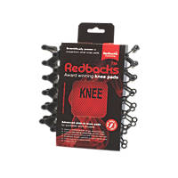 Redbacks KNPDRDLW20 Slide-In Protective Knee Pads
