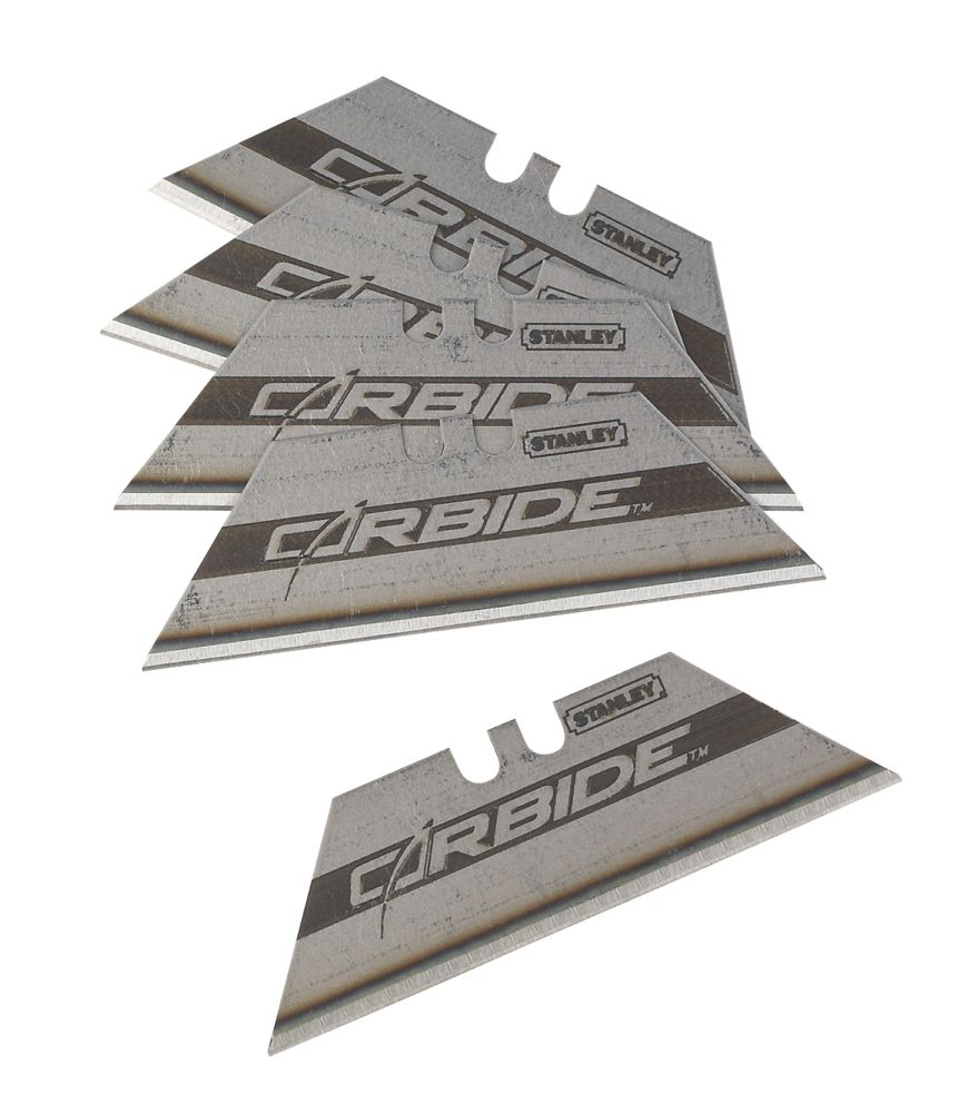 Stanley Carbide Trimming Blades Pack of 5