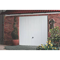 "Carlton 8' x 6' 6 "" Frameless Steel Garage Door White"