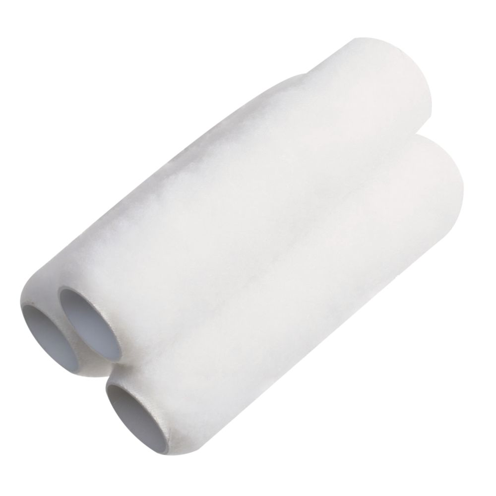 "Medium Pile Knitted Roller Sleeves 9"" x 1½"" Core Pack of 3"