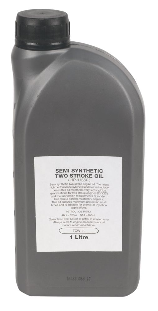 Semi-Synthetic 2-Stroke Engine Oil 1Ltr