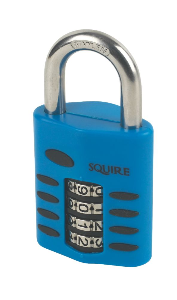 Squire Die Cast Steel Combination Padlock 50mm