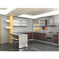 Apollo Slab Tech Crushed Cotton Splashback 750 x  x 20mm