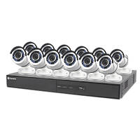 Swann SODVK-164512-UK 16-Channel CCTV DVR Kit & 12 Cameras