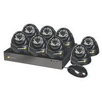 Nightwatcher NW-8AHD-1TB-C720-8D 8-Channel CCTV DVR Kit & 8 Cameras