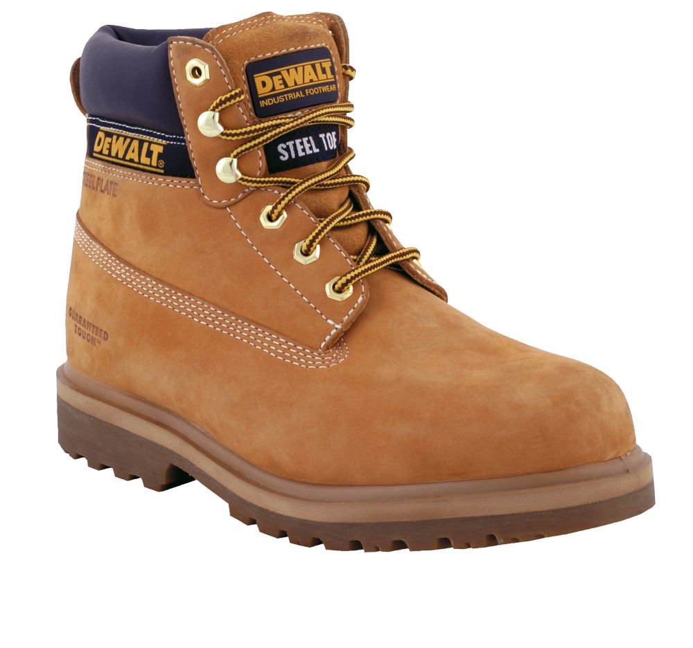 DeWalt Explorer Safety Boots Wheat Size 10