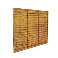 Forest Closeboard Panel Fence Panels 1.82 x 1.5m 3 Pack