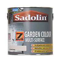 Sadolin Garden Colour 7-Year Woodstain Ancient Ivory 2.5Ltr