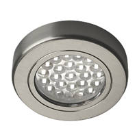 Sensio LED Cabinet Downlights Stainless Steel 3 Pack
