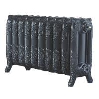 Arroll  3-Column Cast Iron Radiator Pewter 470 x 834mm