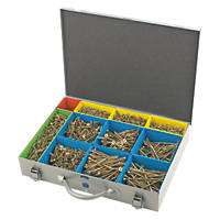Spax PZ Countersunk Screws Professional Trade Case 1500 Pcs