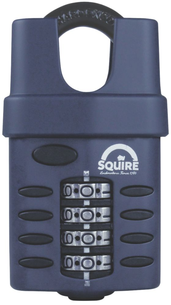Squire 50mm All-Weather Combination Padlock 23mm Closed Shackle