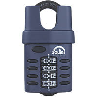 Squire Steel All-Weather Combination Padlock Black 52mm